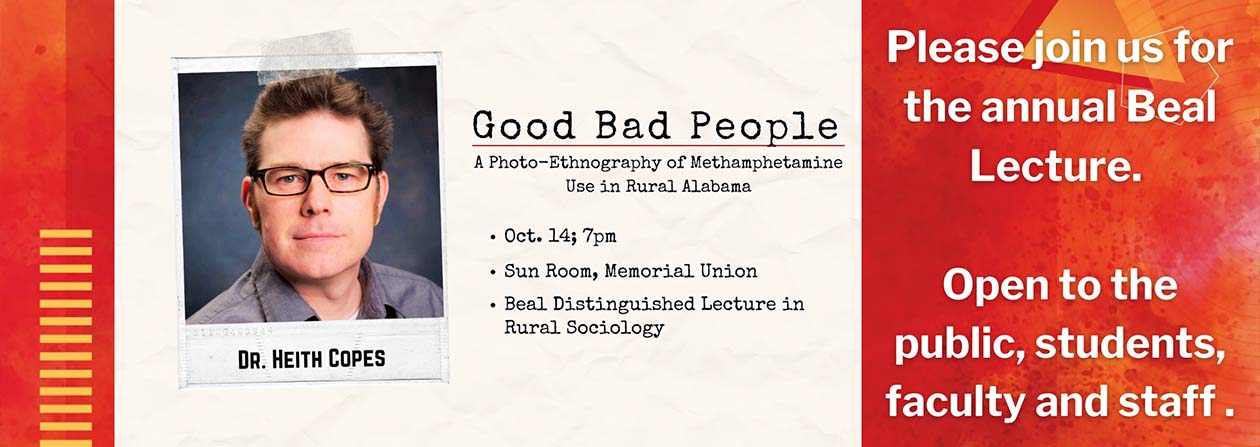 Beal Lecture invitation