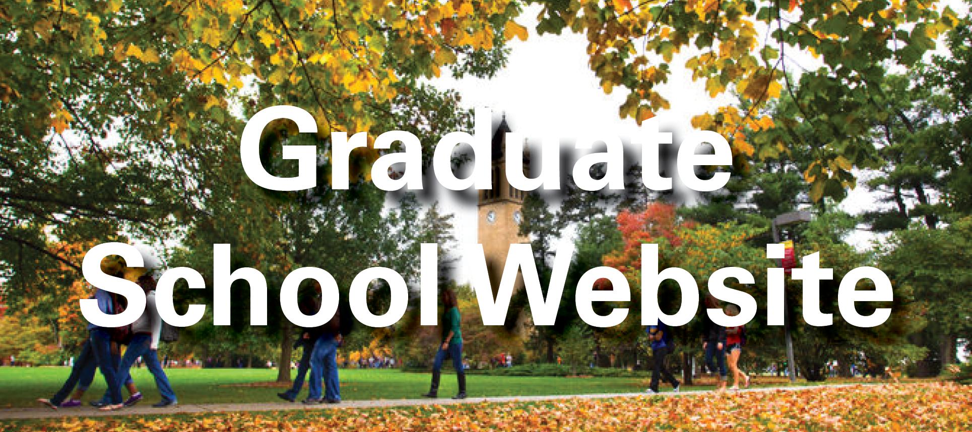 Grad School Website
