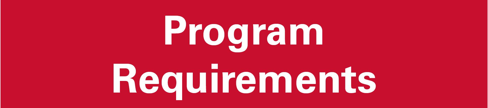 Program Requirements2