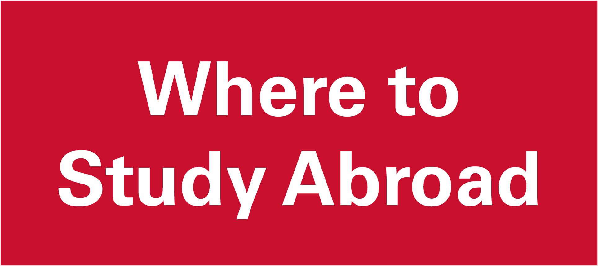 Study Abroad WHERE