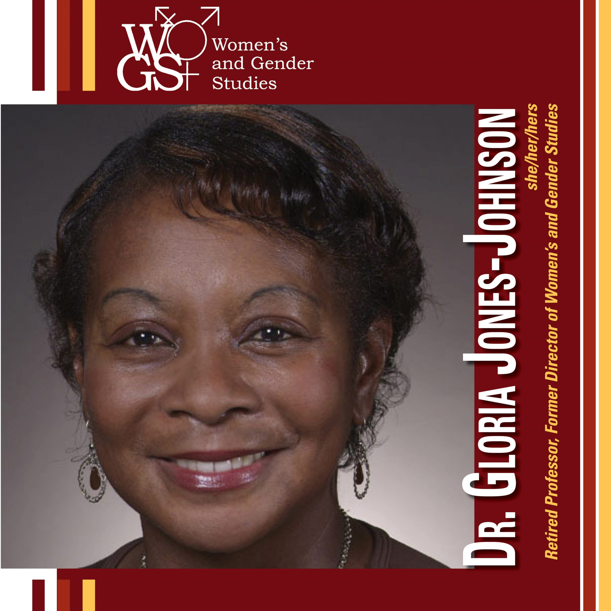 Dr. Gloria Jones-Johnson headshot